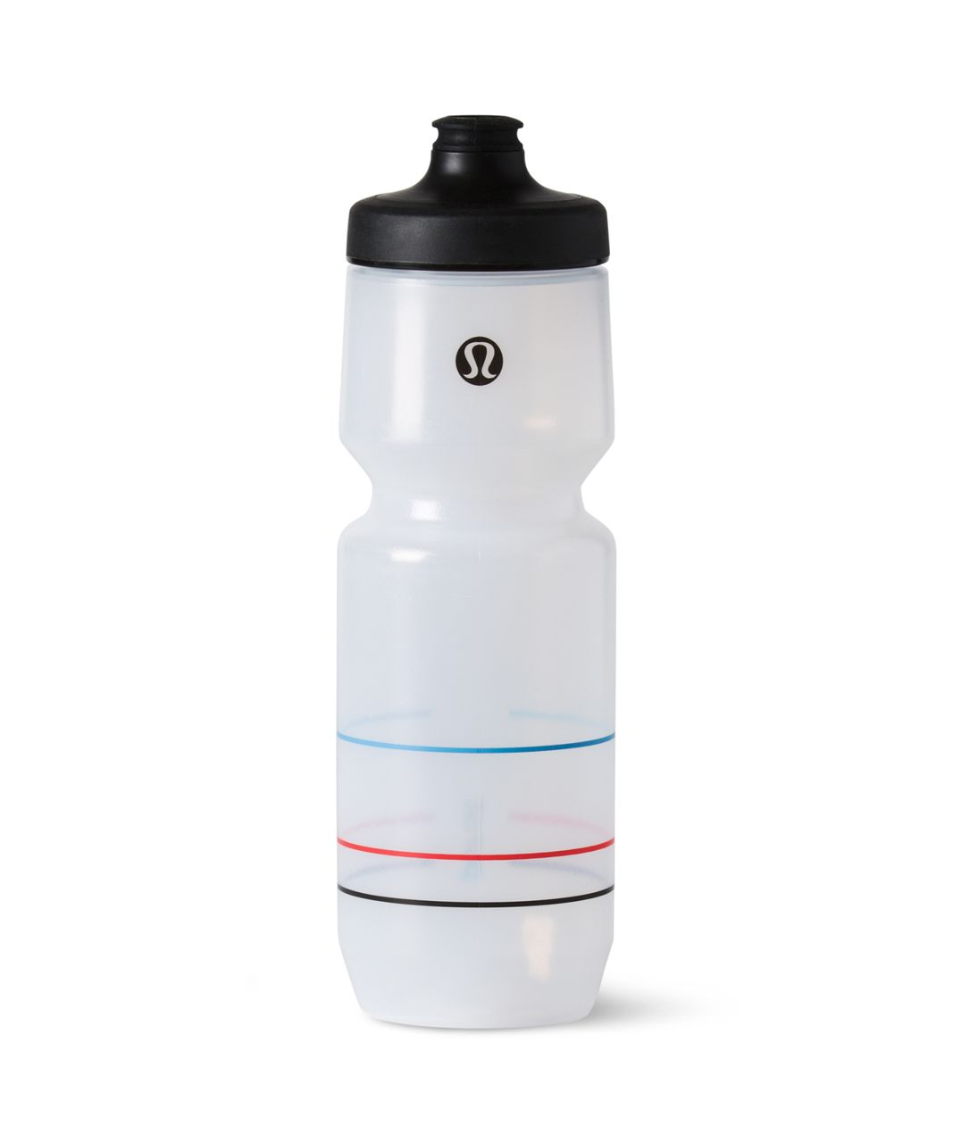 Lululemon Purist Cycling Waterbottle - Velodrome Velo Blue Prince Red