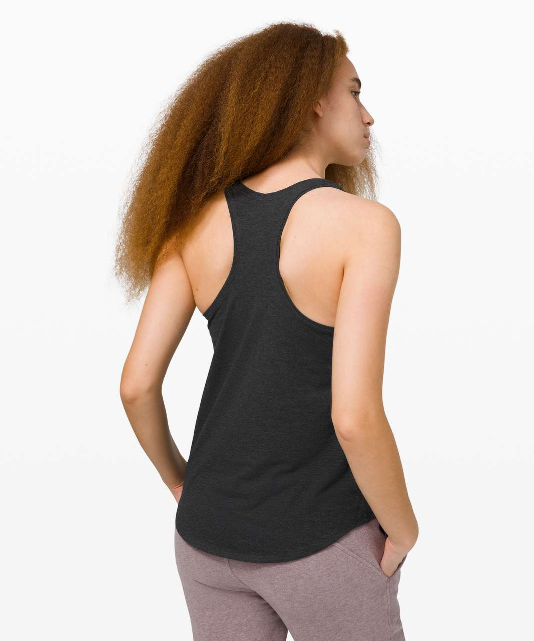 Lululemon Love Tank II - Heathered Black