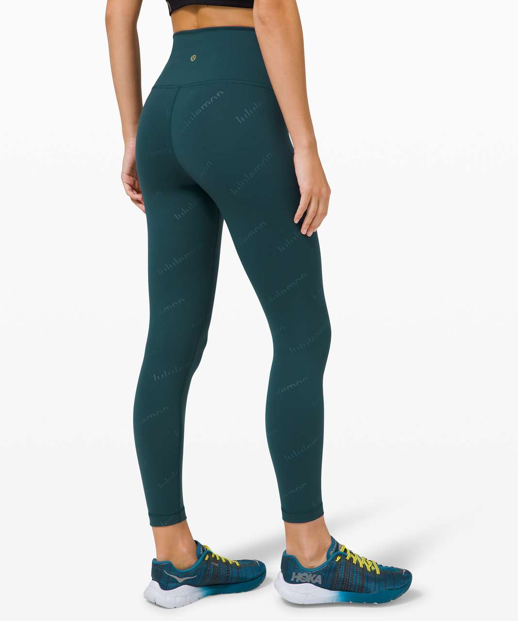 "Lululemon Wunder Train High-Rise Tight 25"" *Special Edition - Embossed Lululemon Submarine"
