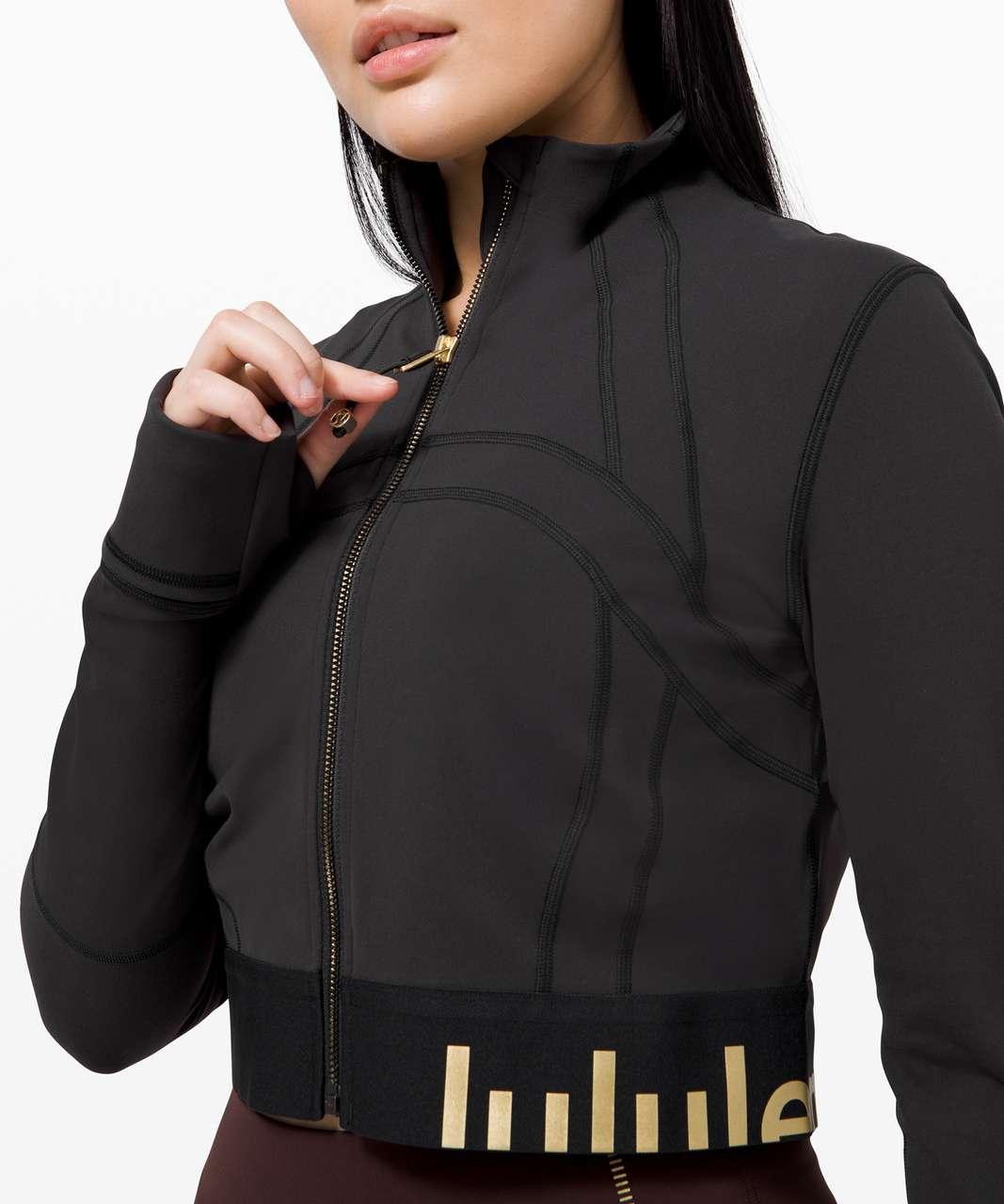Lululemon Define Jacket Cropped *Gold - Black