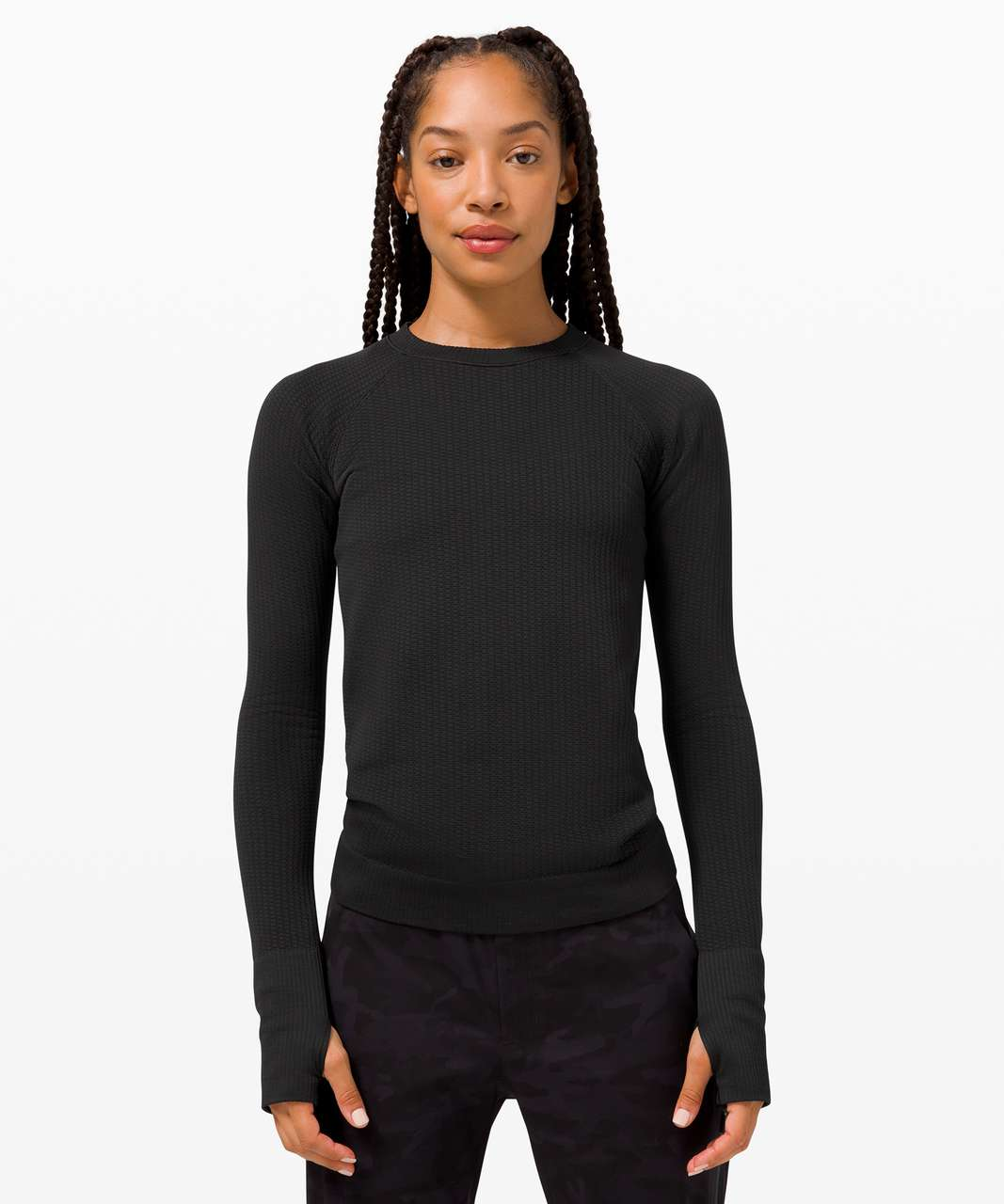 Lululemon Rest Less Pullover *Bubble Dot - Bubble Dot Black