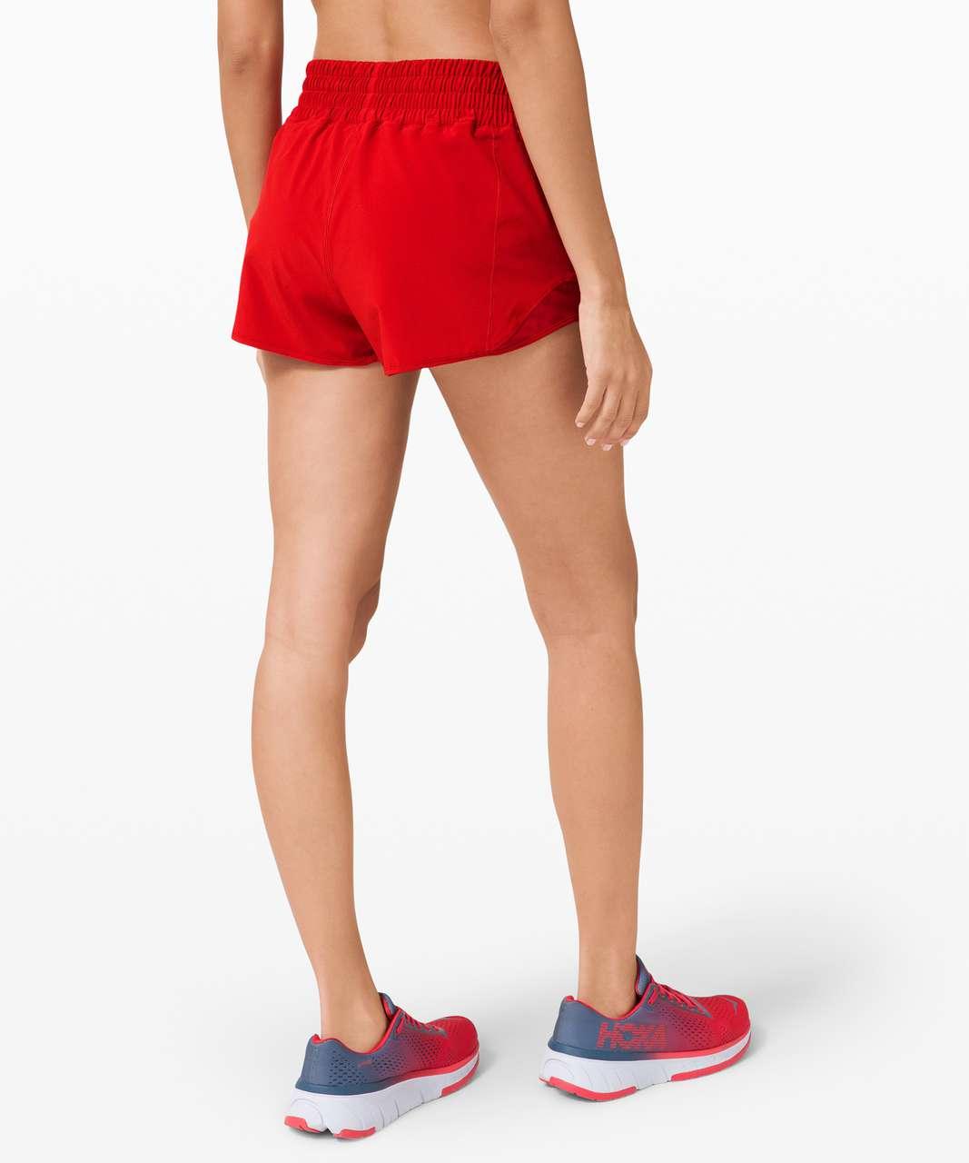 "Lululemon Hotty Hot Short *High-Rise 2.5"" - Dark Red"