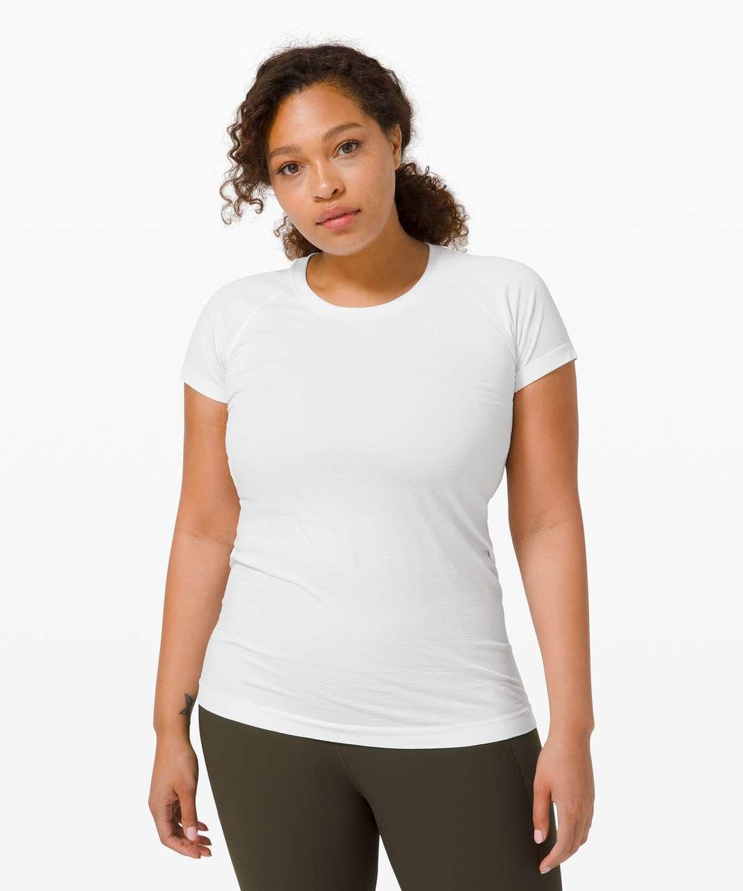 Lululemon Swiftly Tech Short Sleeve 2.0 - White / White