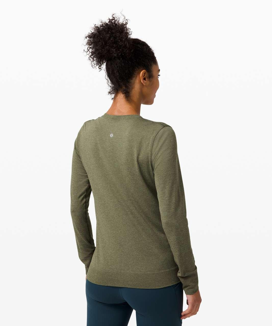 Lululemon Swiftly Breathe Long Sleeve - Willow Green / Army Green