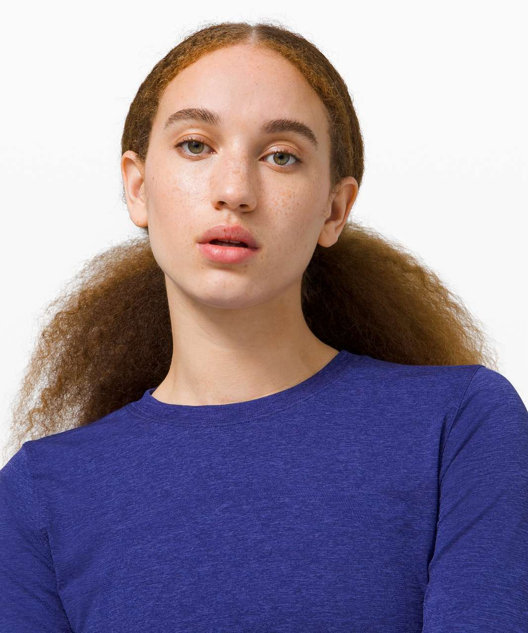 Lululemon Swiftly Breathe Long Sleeve - Blazer Blue / Larkspur