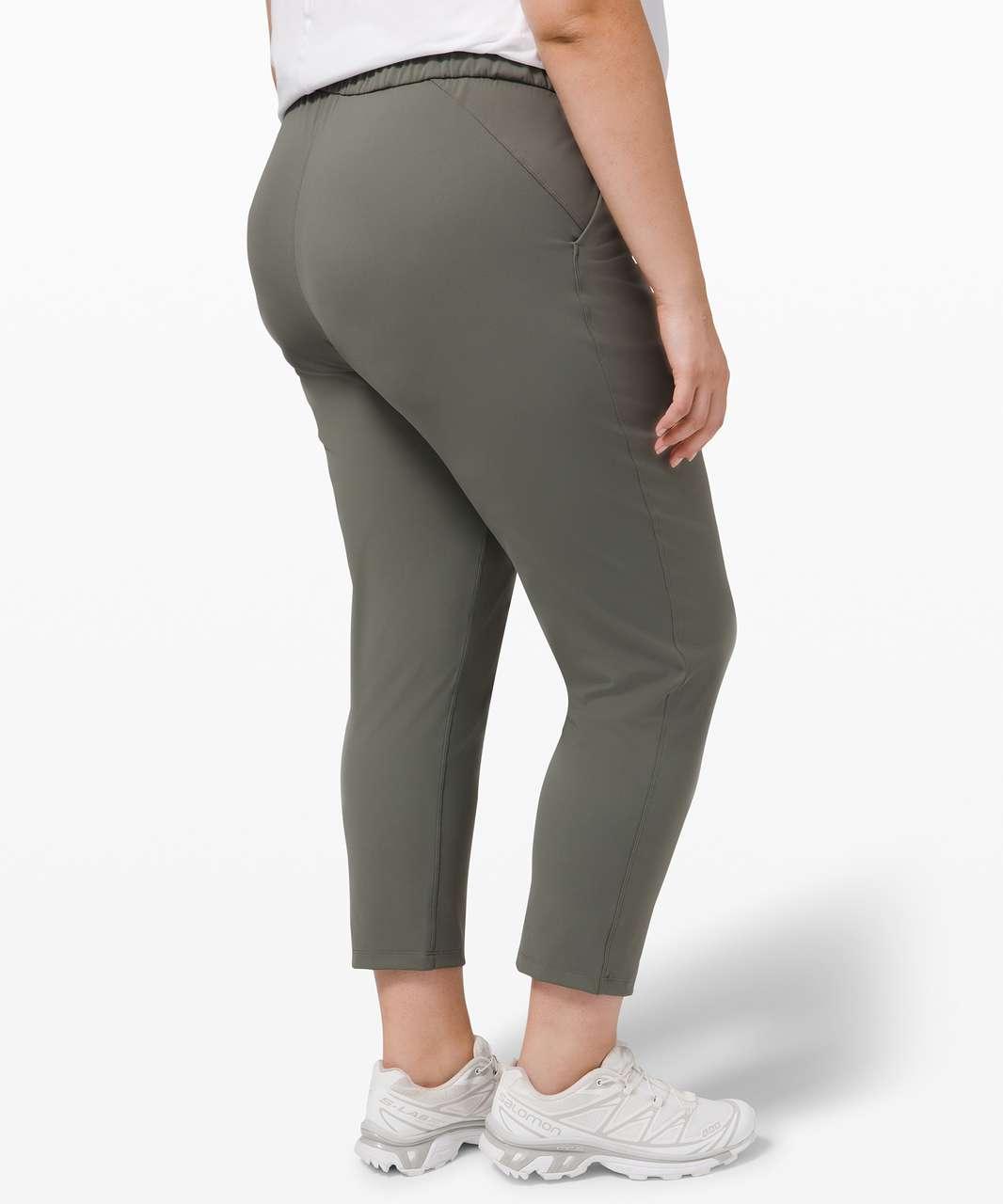 Lululemon Keep Moving Pant 7/8 High-Rise - Grey Sage