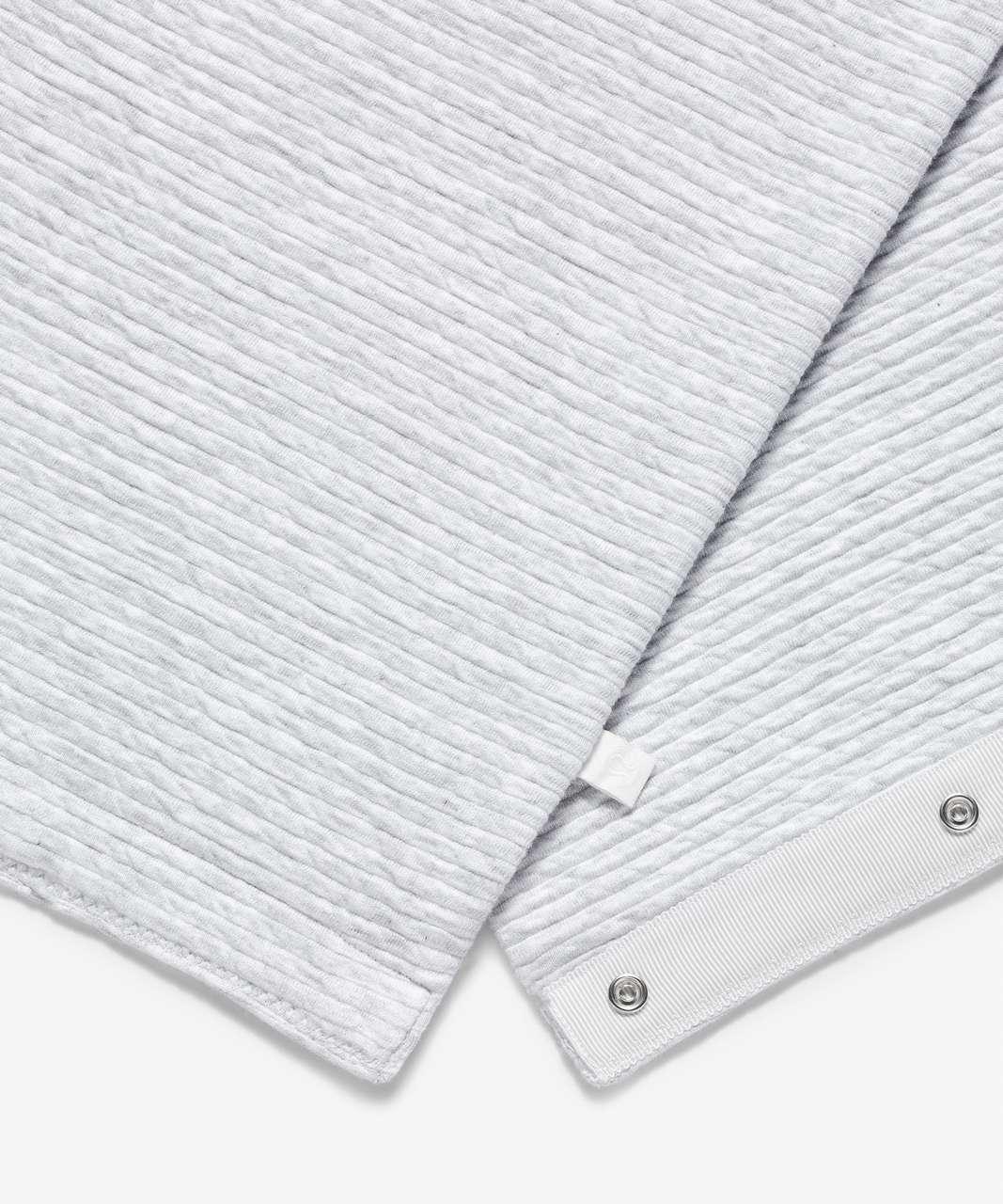 Lululemon Vinyasa Skinny Scarf - Heathered Core Ultra Light Grey