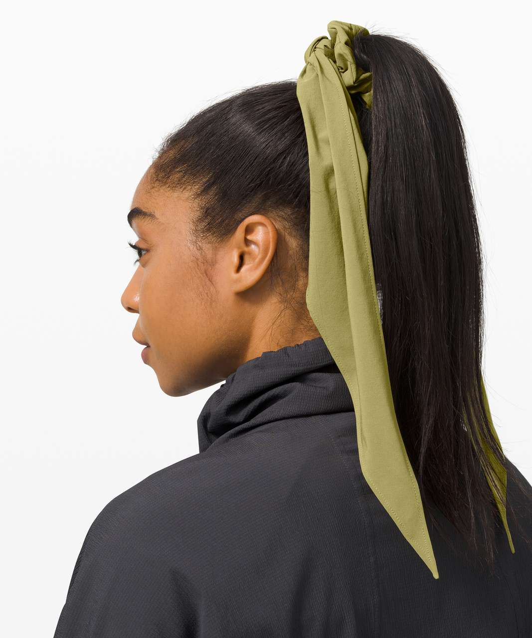 Lululemon Uplifting Scrunchie *Flow - Hazel Green