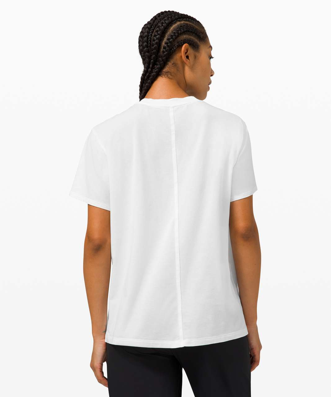 Lululemon All Yours Tee *Graphic - White