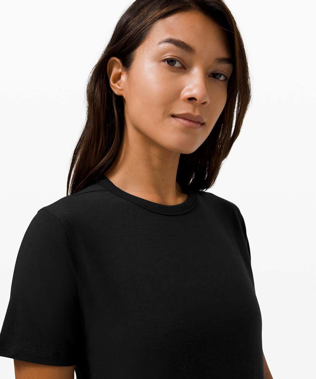 Lululemon Hold Tight Short Sleeve *Wool - Black