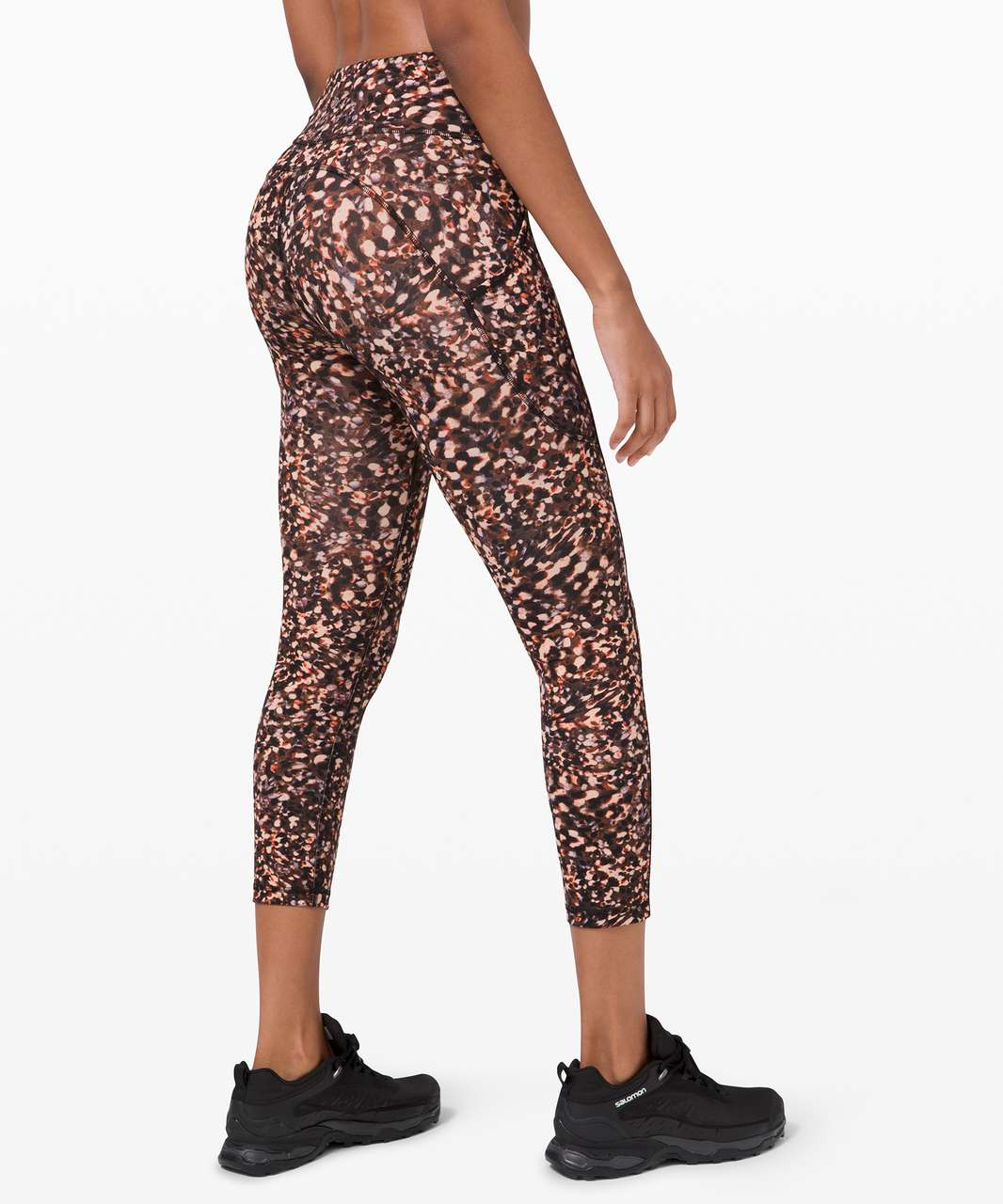 "Lululemon Invigorate High-Rise Crop 23"" - Motion Flux Multi"