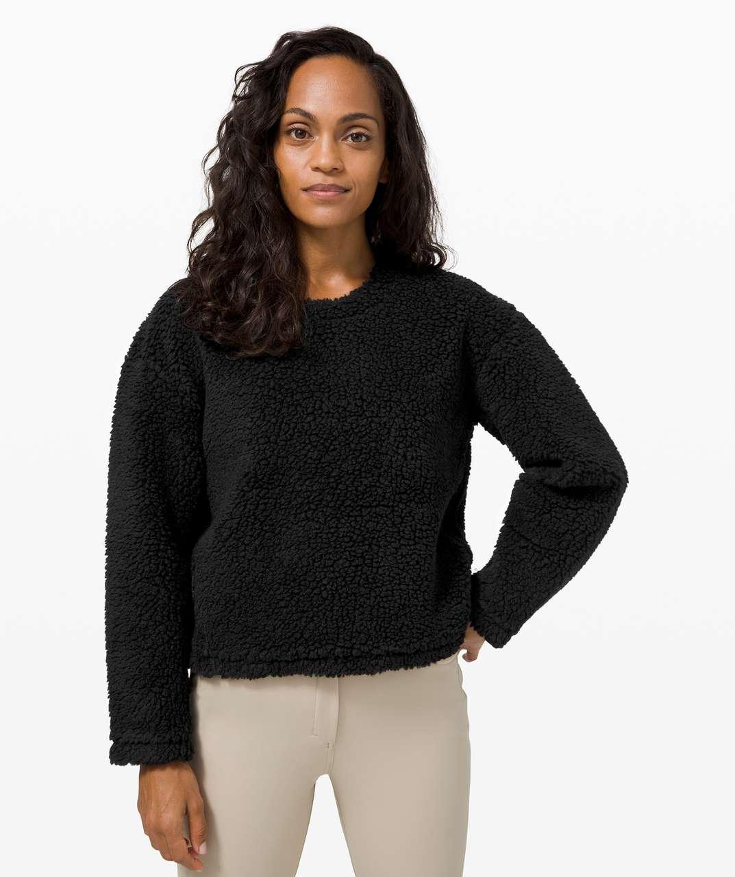 Lululemon Wool Whenever Crew - Black
