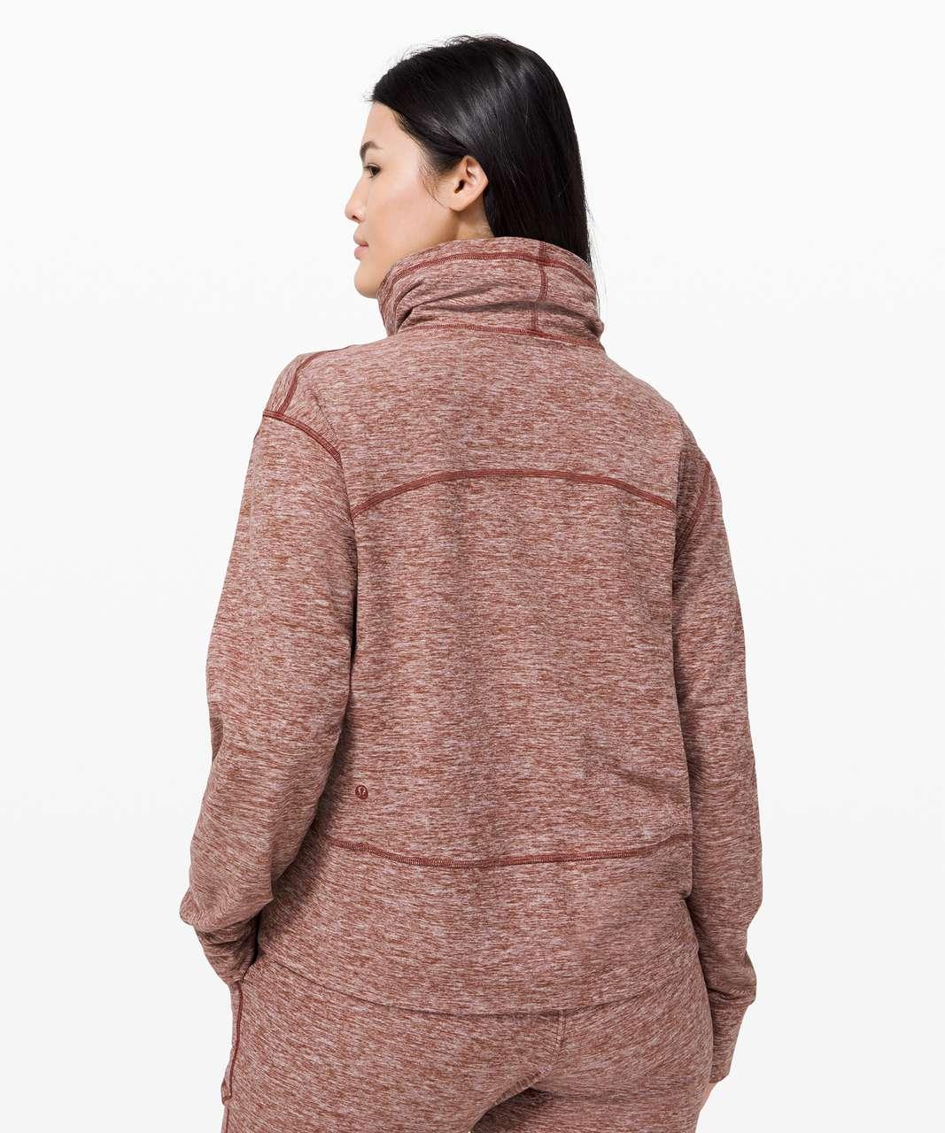 Lululemon Ready to Rulu Fleece Pullover - Heathered Savannah