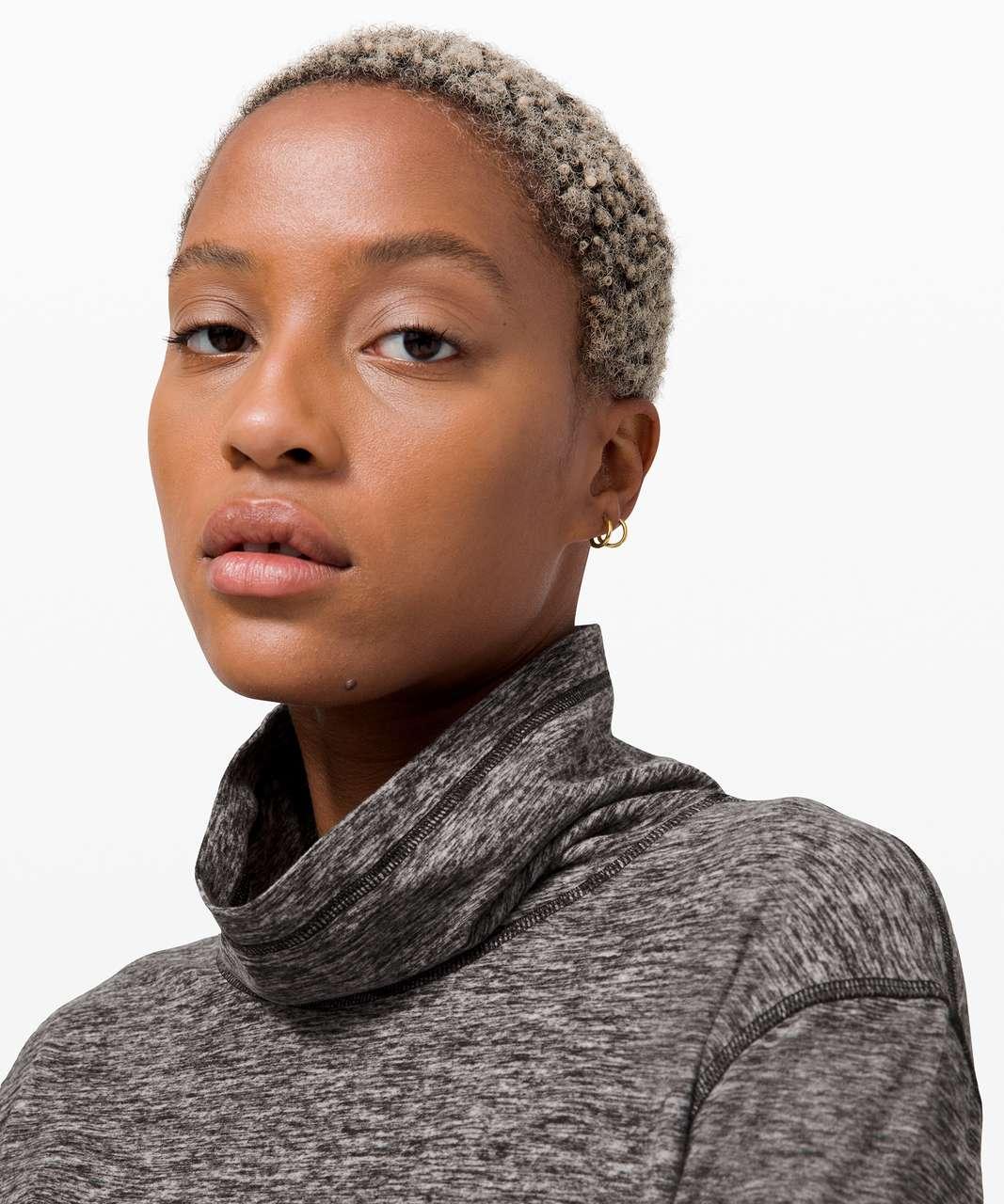 Lululemon Ready to Rulu Fleece Pullover - Heathered Black