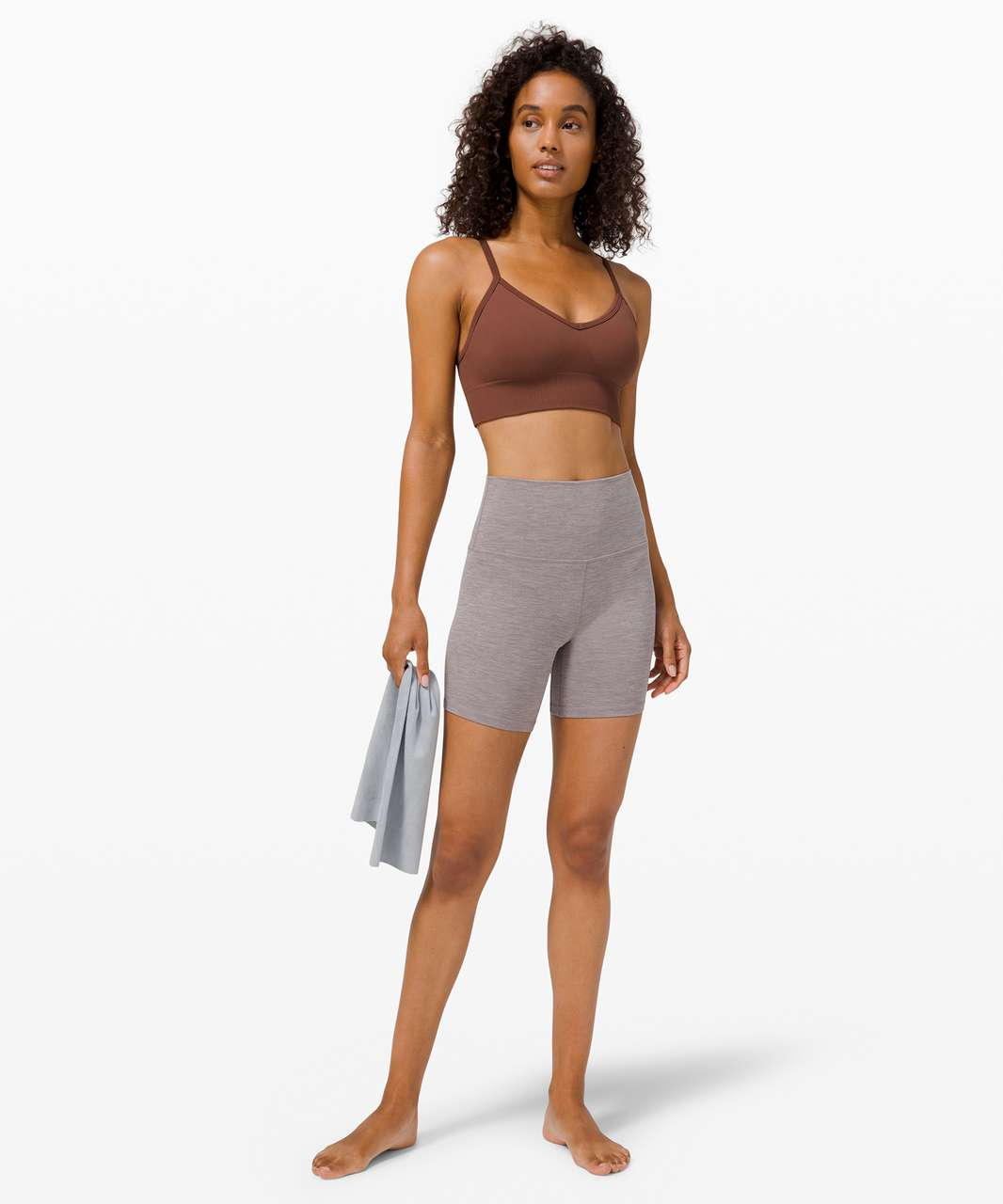 Lululemon Ebb to Street Bra *Light Support, C/D Cup - Ancient Copper