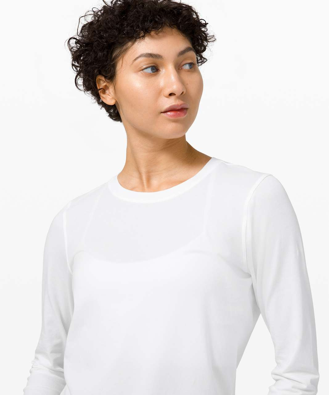 Lululemon Ever Ready Long Sleeve - White