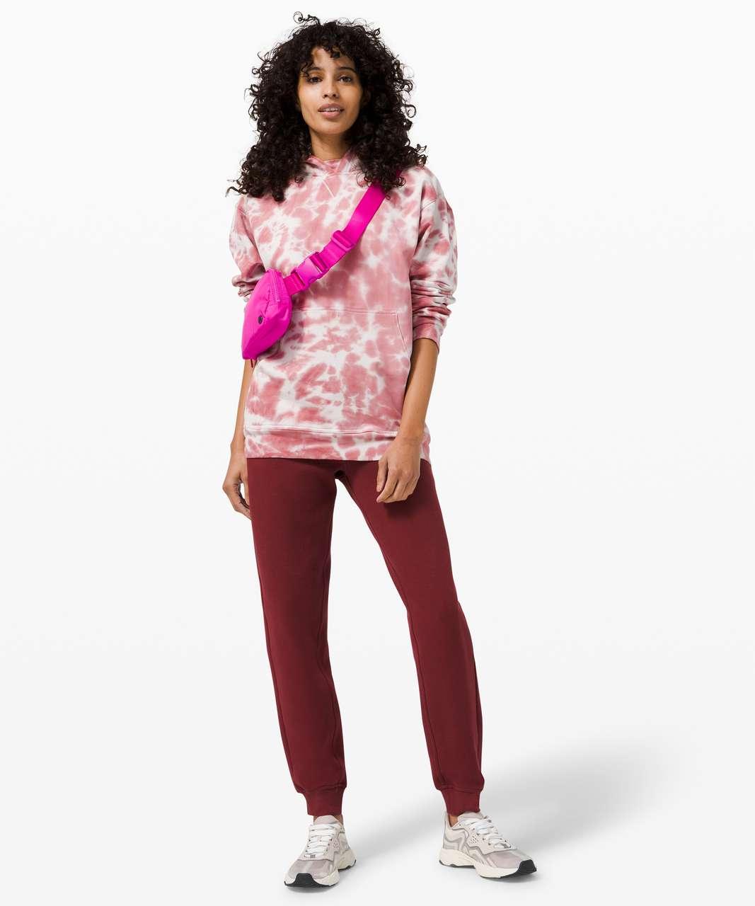 Lululemon All Yours Hoodie Tie Dye *Fleece - Marmoleado Tie Dye Brier Rose