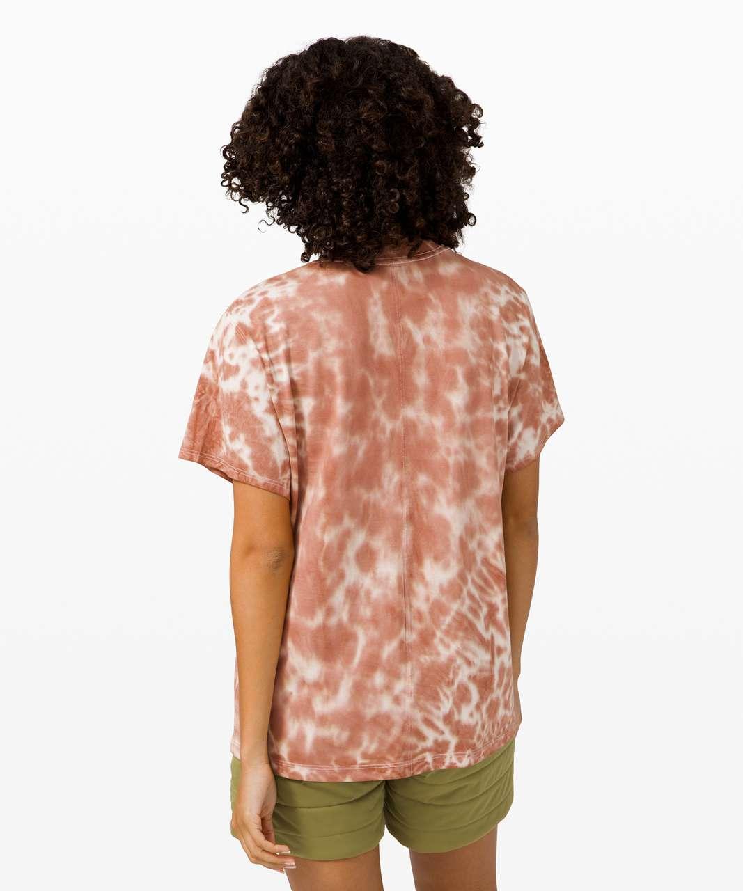 Lululemon All Yours Tee *Tie Dye - Marmoleado Tie Dye Ancient Copper
