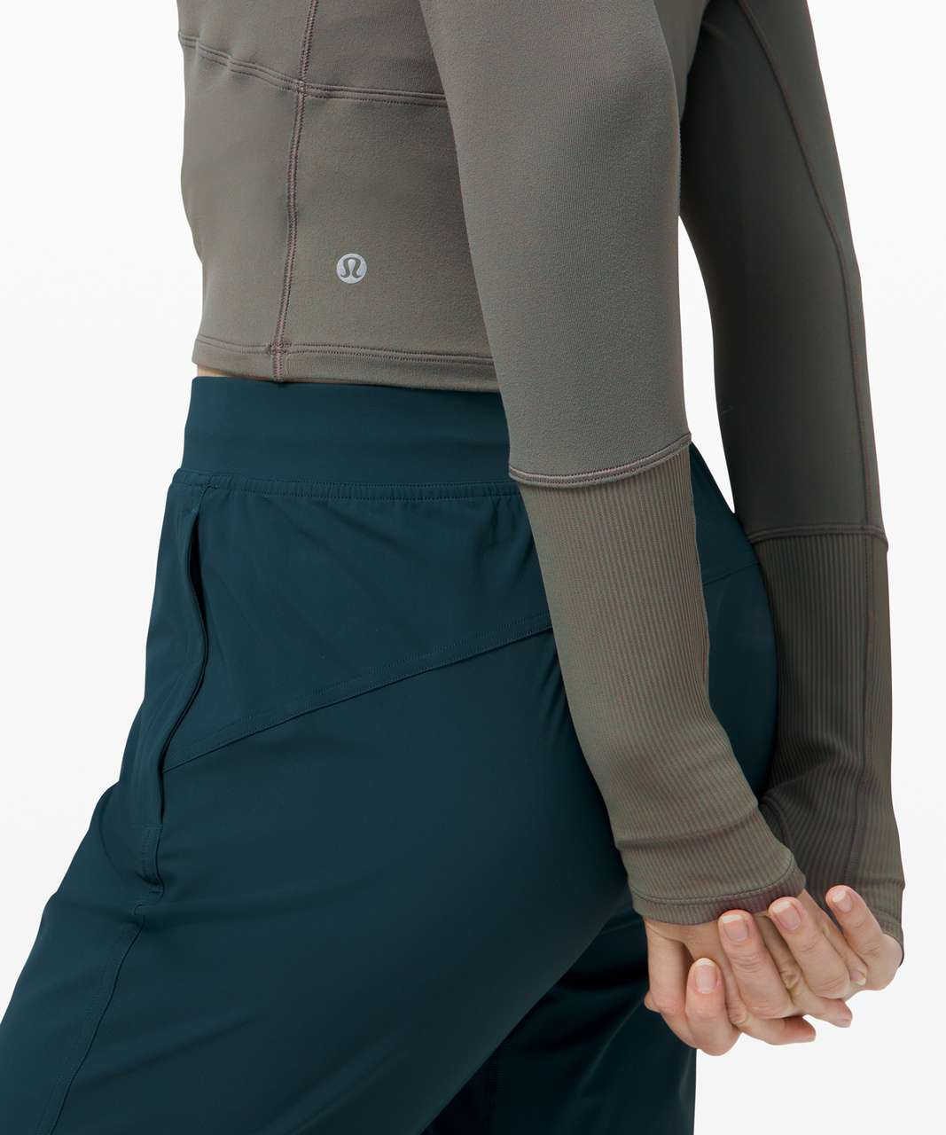 Lululemon Its Rulu Long Sleeve - Grey Sage