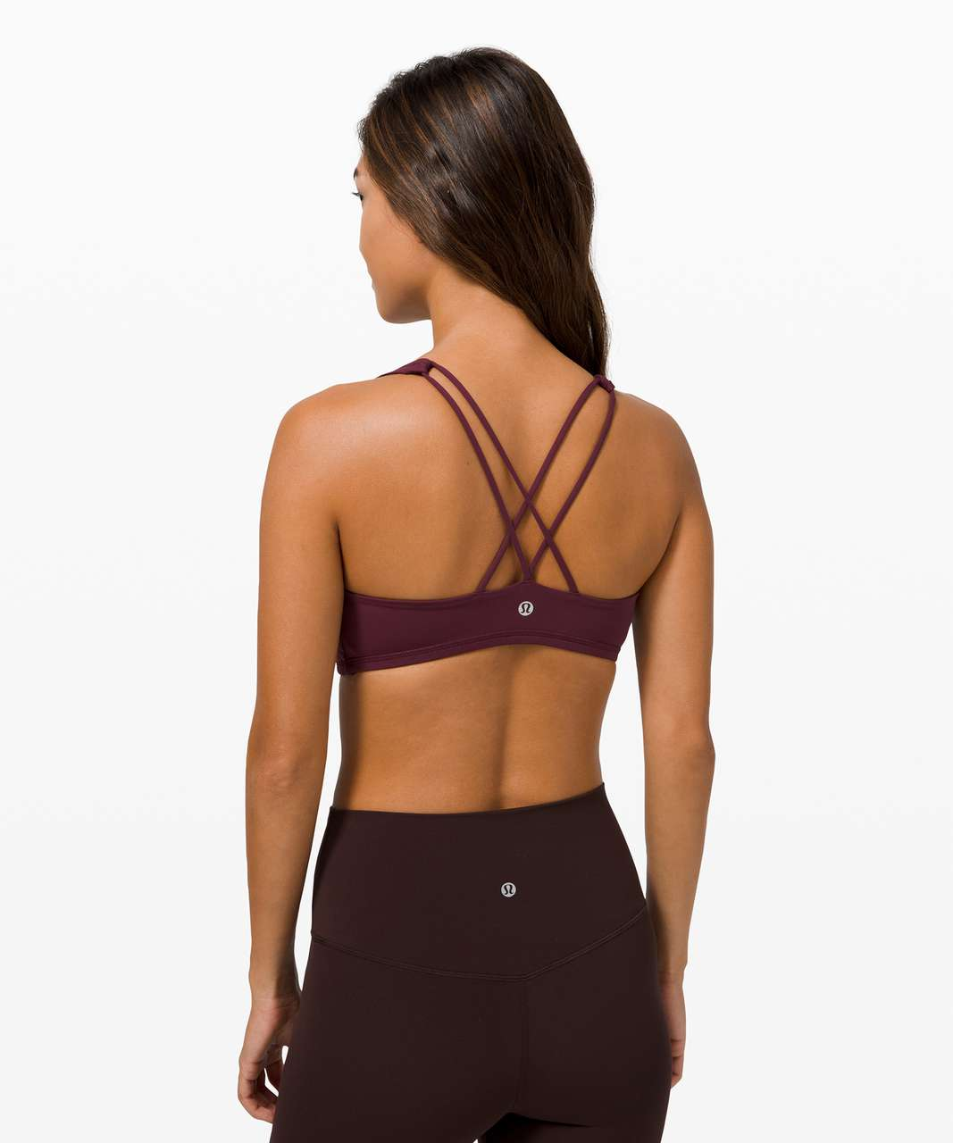Lululemon Free To Be Bra *Light Support, A/B Cup - Cassis