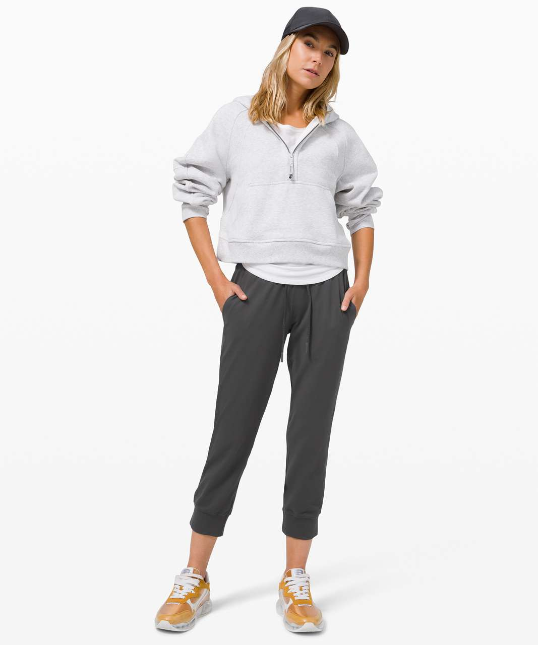 Lululemon Ready to Rulu Jogger Crop - Graphite Grey