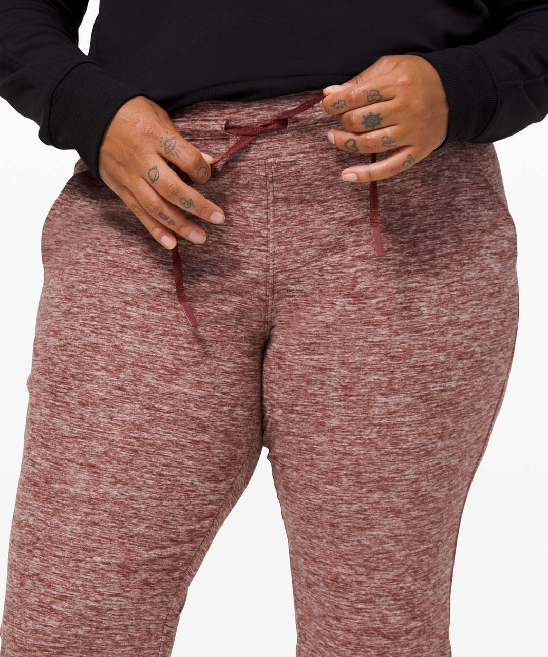 Lululemon Ready to Rulu Fleece Jogger - Heathered Savannah