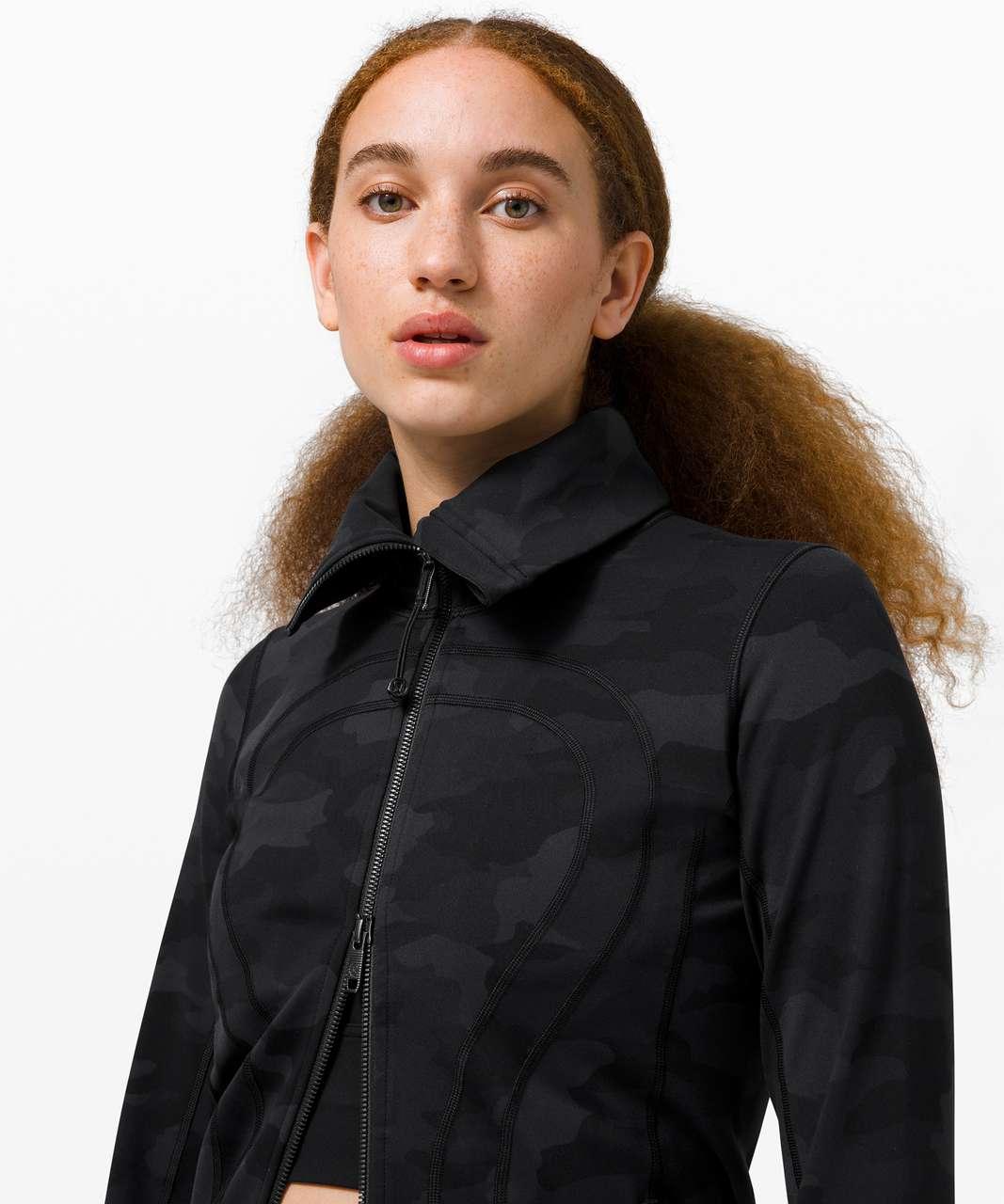 Lululemon In Stride Jacket - Heritage 365 Camo Deep Coal Multi