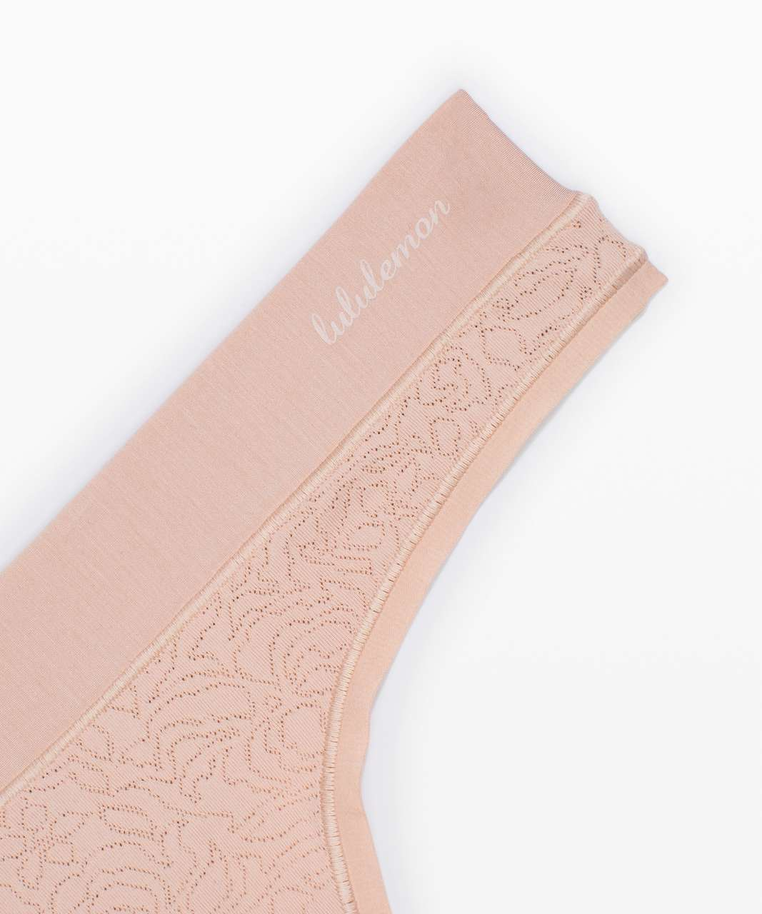 Lululemon Soft Breathable Thong *Lace 3 Pack - Garnet / Misty Shell / Black