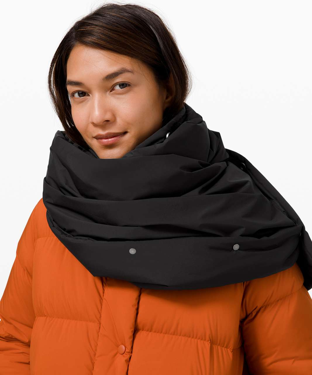 Lululemon Pure Puff Scarf - Black