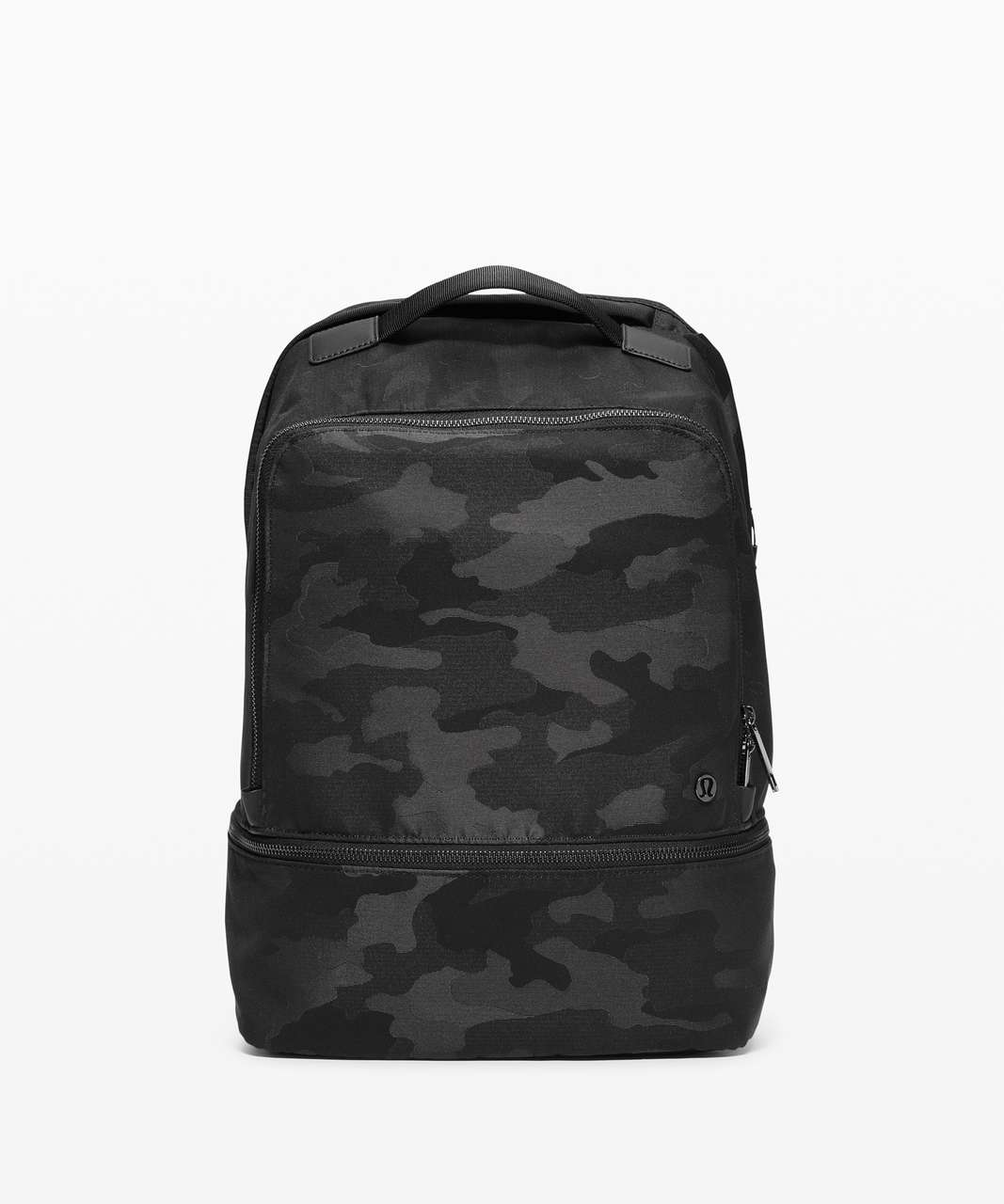 Lululemon City Adventurer Backpack *17L - Heritage Camo Jacquard Max Black Graphite Grey
