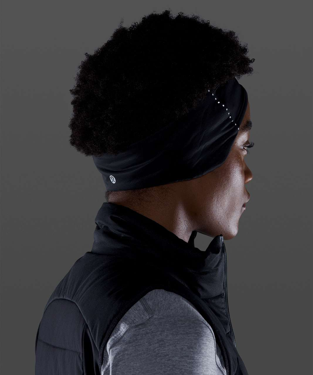 Lululemon Down for It All Earwarmer - Black