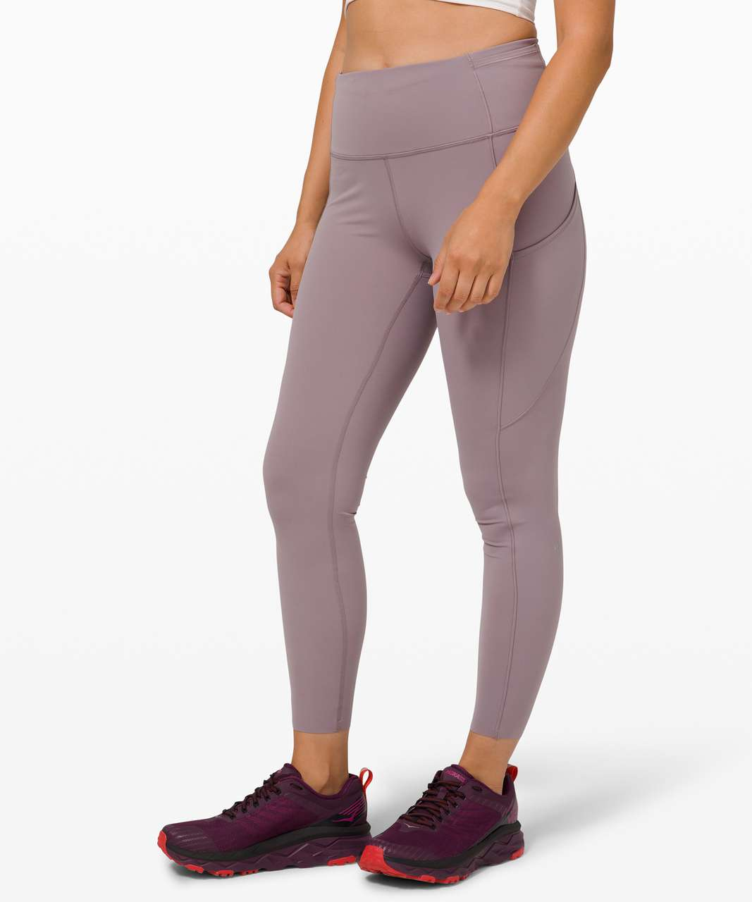 "Lululemon Fast and Free Tight II 25"" *Non-Reflective Nulux - Violet Verbena"