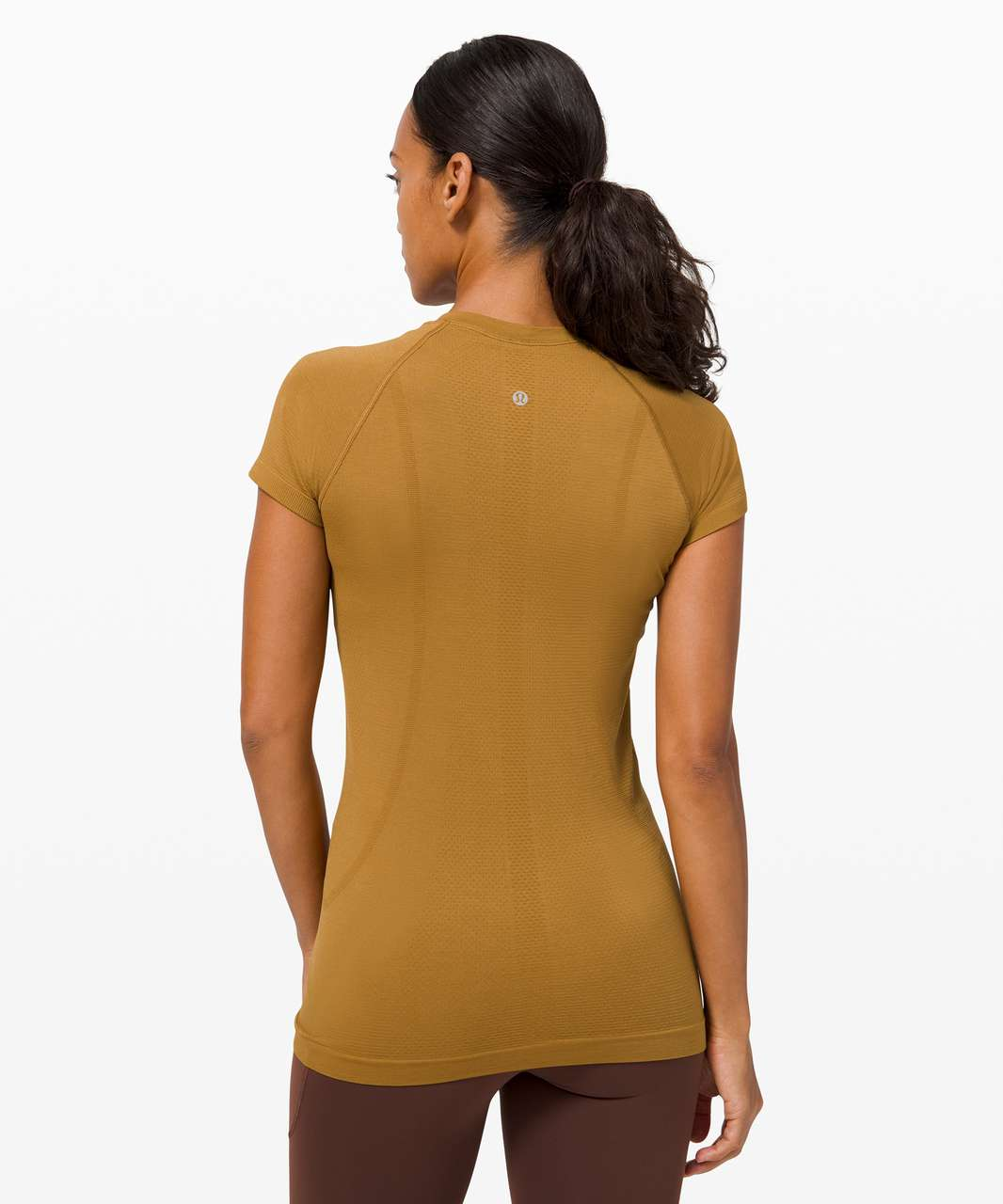 Lululemon Swiftly Tech Short Sleeve 2.0 - Spiced Bronze / Spiced Bronze