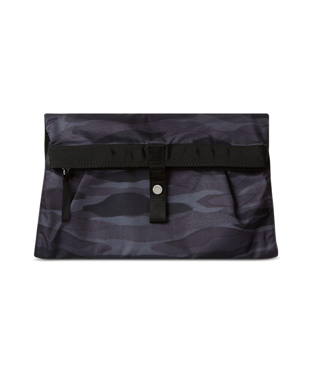 Lululemon Sweaty Or Not Kit - Mini Coast Camo Dark Slate Black / Black