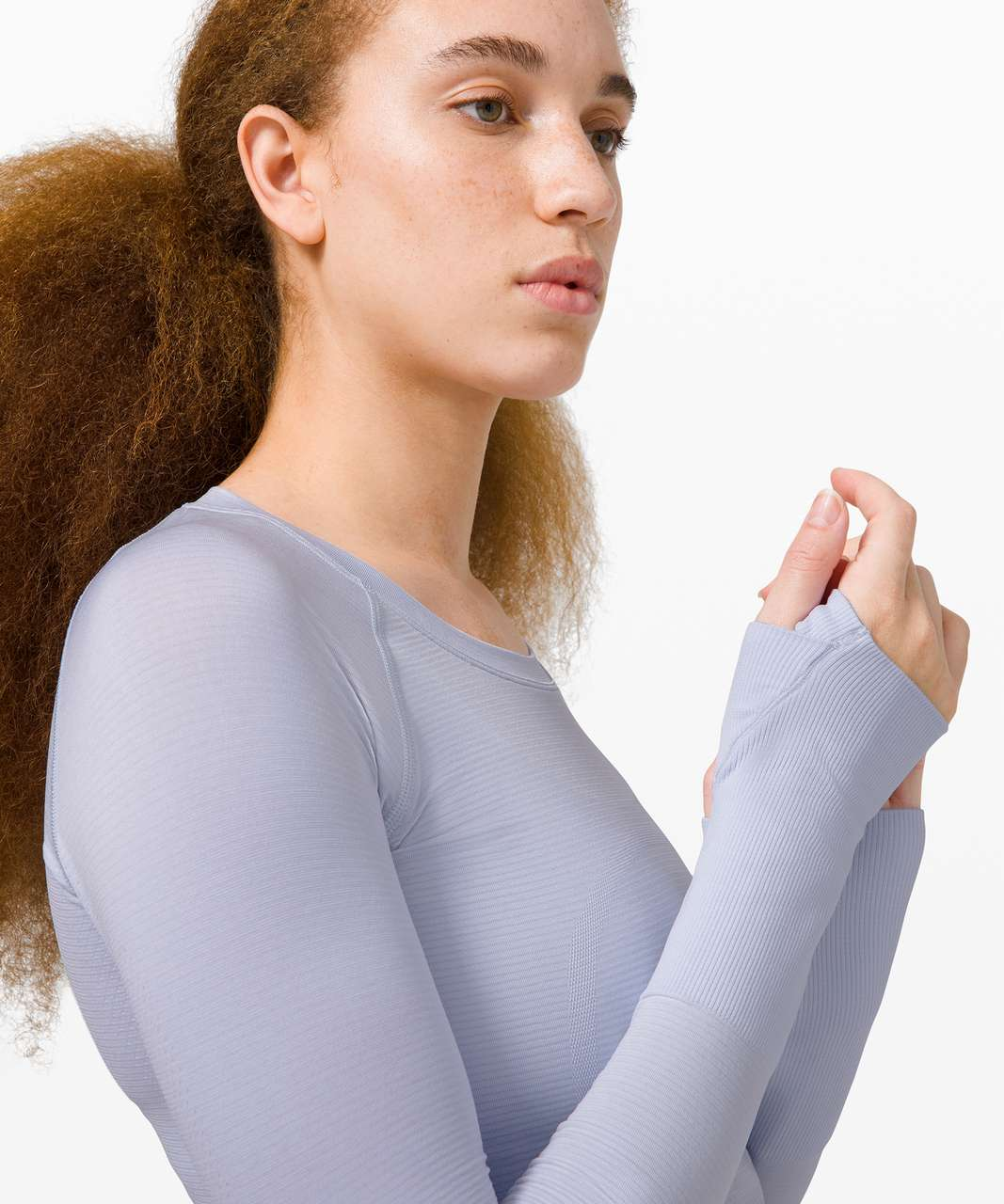 Lululemon Swiftly Tech Long Sleeve 2.0 - Serene Blue / Serene Blue