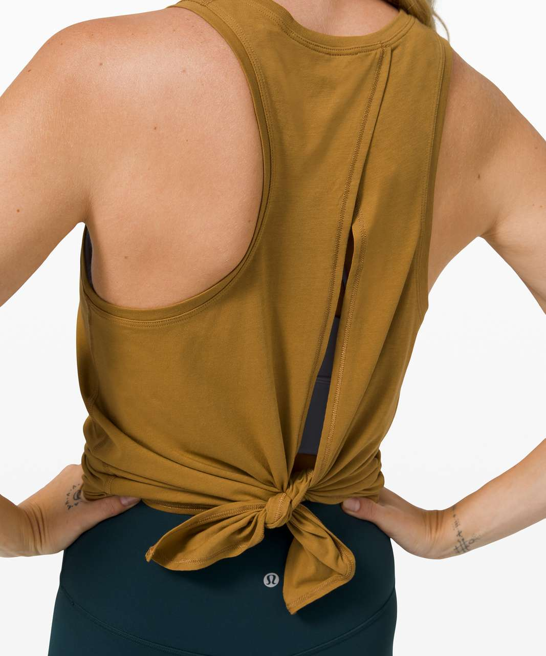 Lululemon All Tied Up Tank - Spiced Bronze