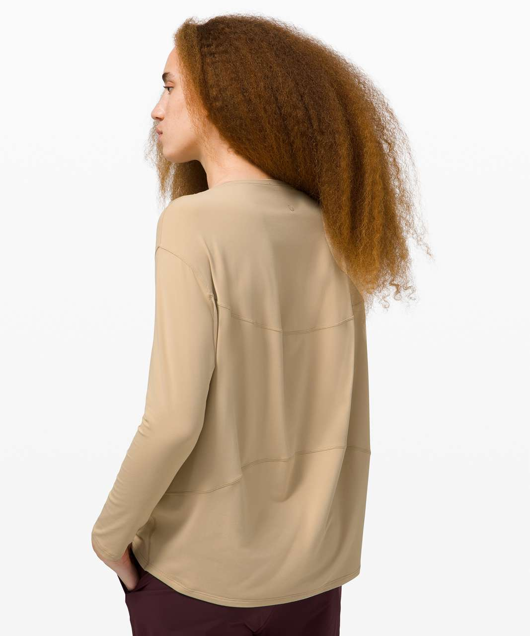 Lululemon Back in Action Long Sleeve *Rulu - Trench