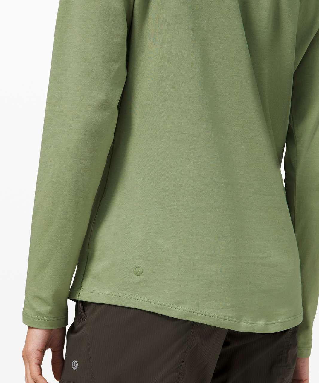 Lululemon Ever Ready Long Sleeve - Willow Green