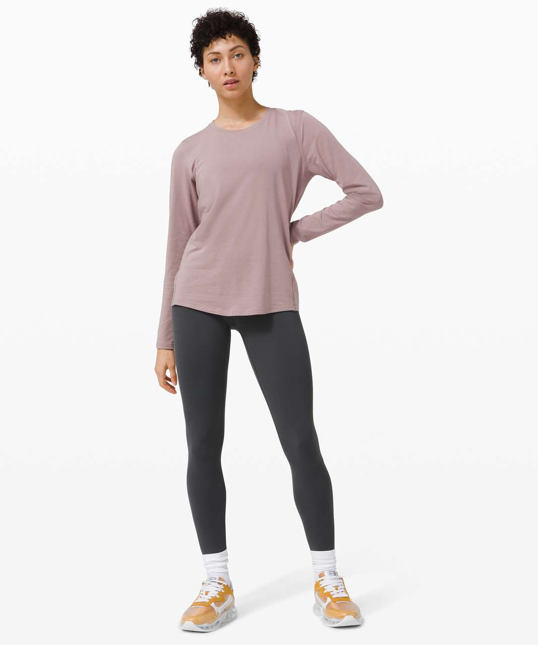 Lululemon Ever Ready Long Sleeve - Violet Verbena