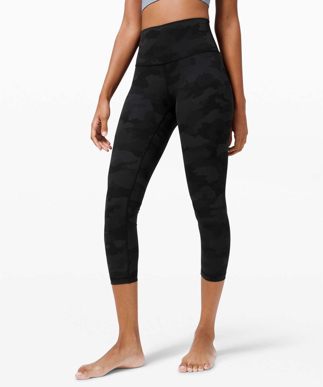 "Lululemon Wunder Under High-Rise Crop 23"" *Full-On Luxtreme - Heritage 365 Camo Deep Coal Multi"