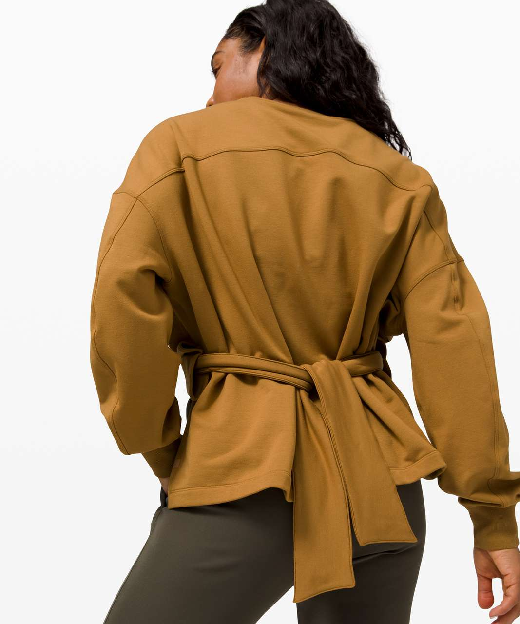 Lululemon Bound to Bliss Pullover - Spiced Bronze