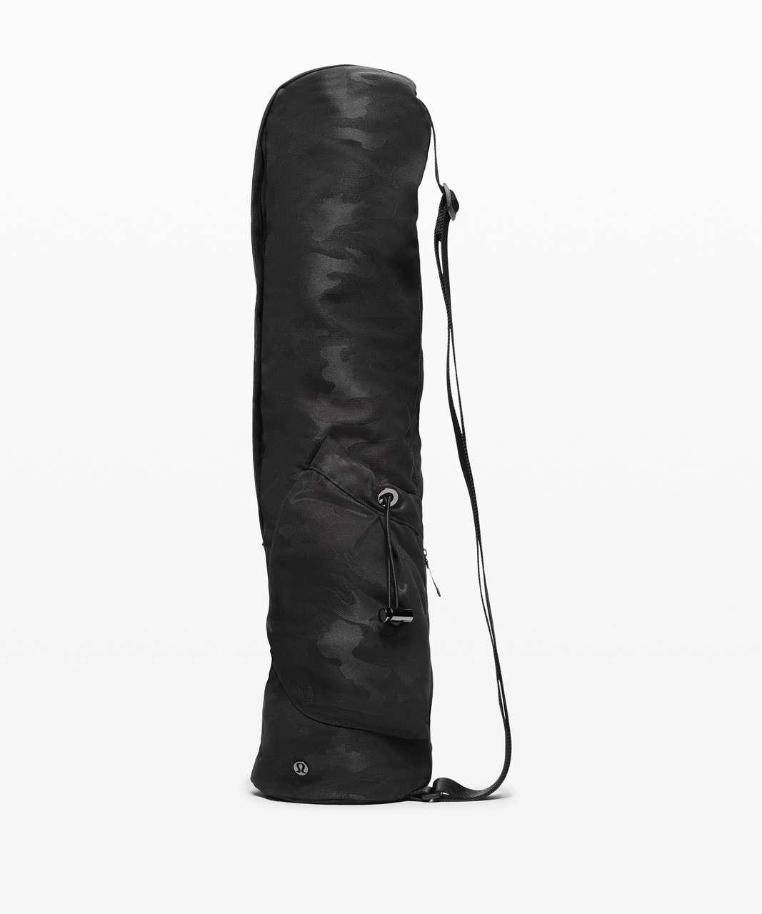 Lululemon The Yoga Mat Bag *16L - Heritage Camo Jacquard Max Black Graphite Grey