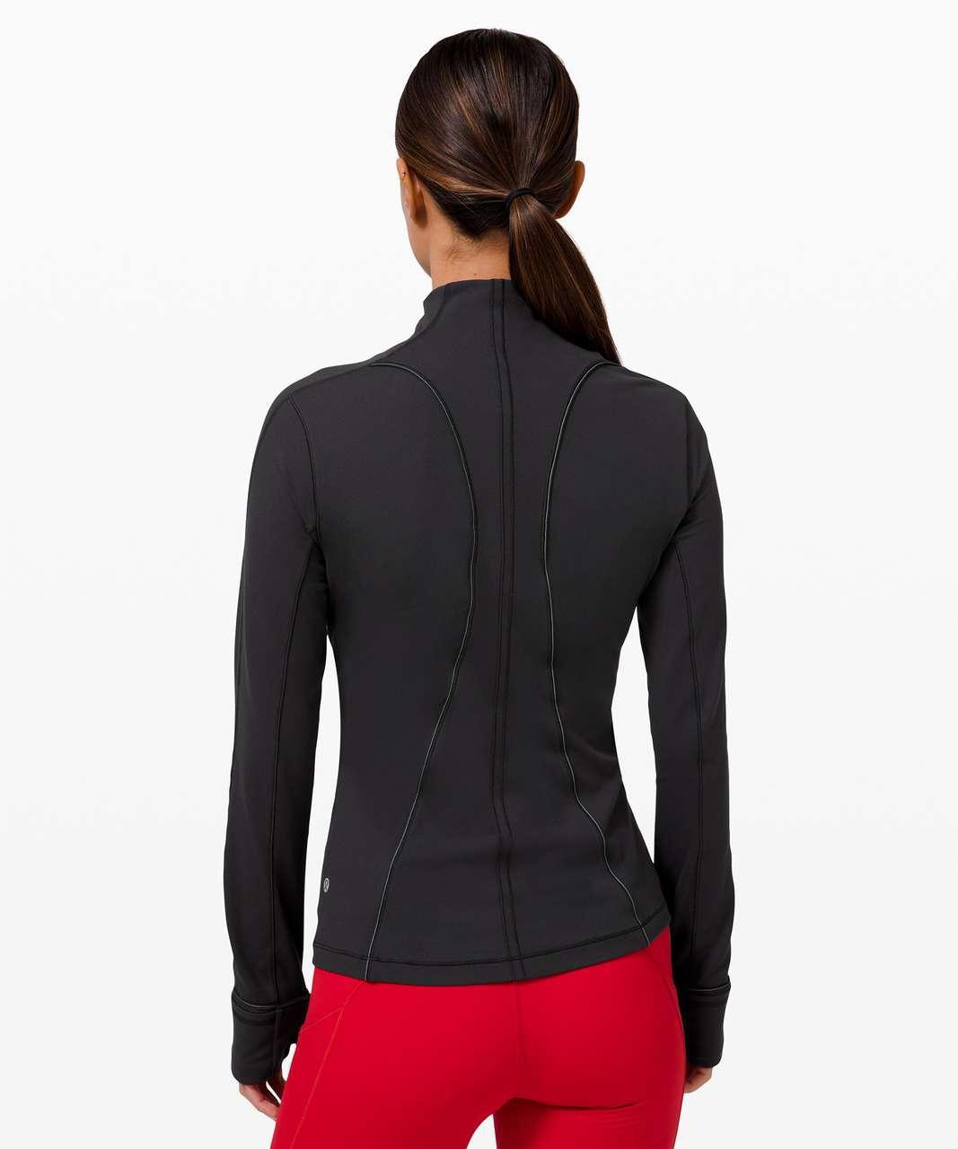 Lululemon Run Briskly 1/2 Zip - Black