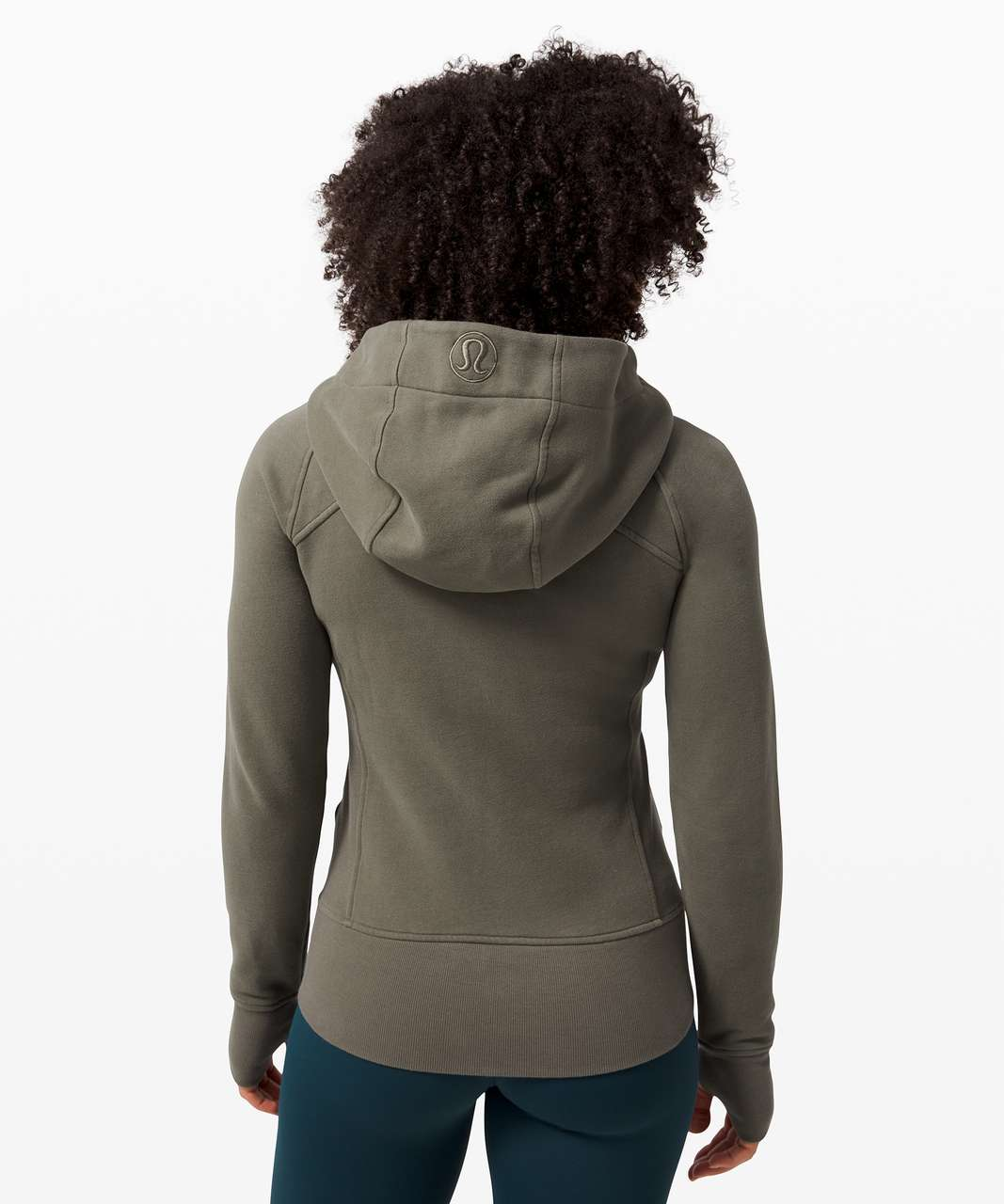 Lululemon Scuba Hoodie *Light Cotton Fleece - Army Green