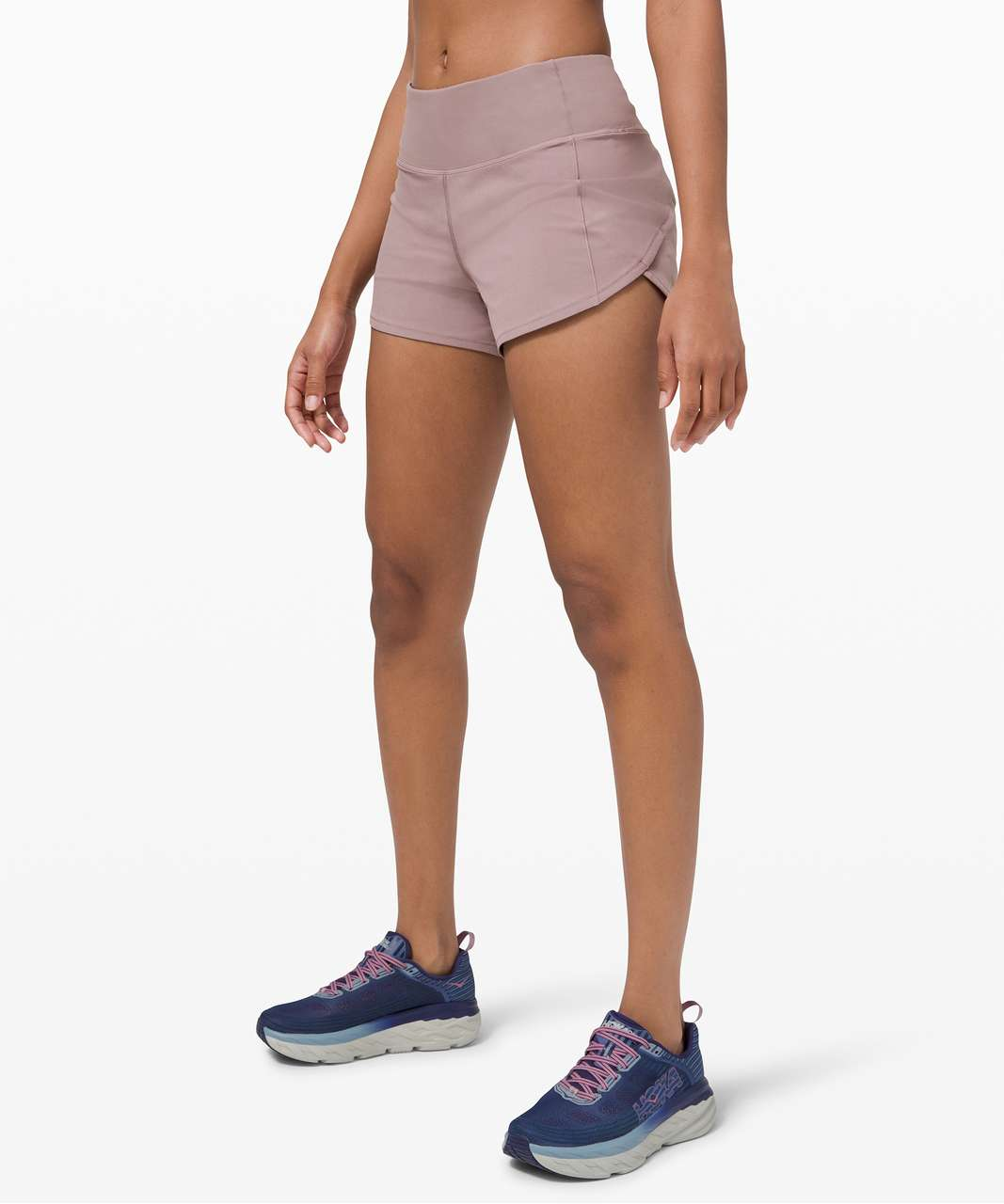 "Lululemon Speed Up Short Long *4"" Updated Fit - Violet Verbena"