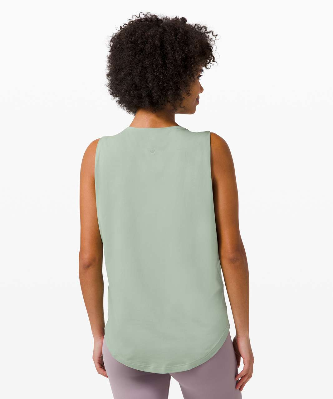 Lululemon Brunswick Muscle Tank - Willow Green