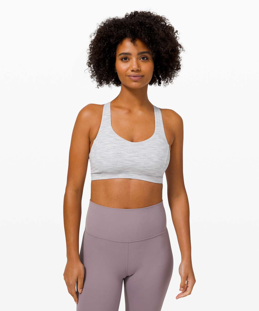Lululemon Free To Be Serene Bra *Light Support, C/D Cup - Wee Are From Space Nimbus Battleship / Violet Verbena