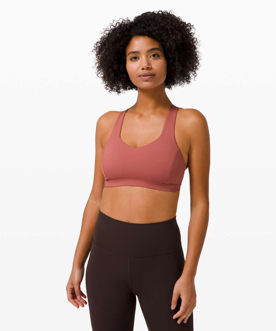 Lululemon Free To Be Serene Bra *Light Support, C/D Cup - Soft Cranberry