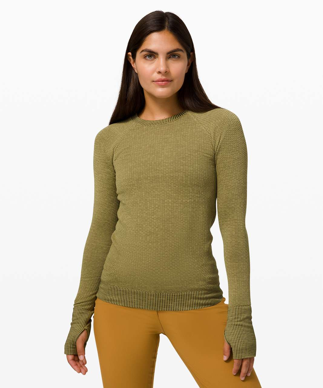 Lululemon Rest Less Pullover *Bubble Dot - Bubble Dot Hazel Green / Moss Green