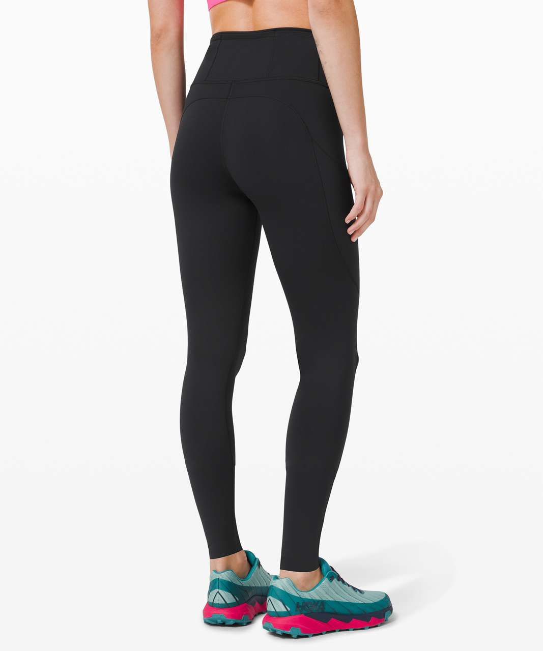 "Lululemon Fast and Free Tight 31"" *Reflective - Black"